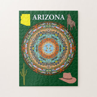 Arizona-Staatmandala-Puzzlespiel Puzzle