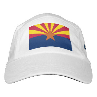 Arizona-Staats-Flagge personalisiert Headsweats Kappe