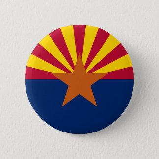 Arizona-Staats-Flagge Runder Button 5,7 Cm