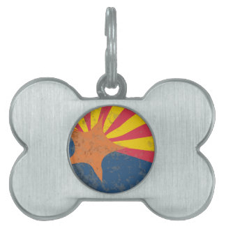 Arizona-Staats-FlaggeGrunge Tiermarke