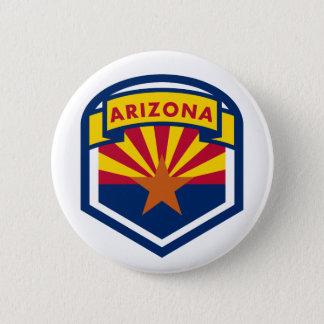 Arizona-Staats-Flaggen-Schild Runder Button 5,7 Cm