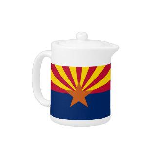Arizona-Staats-Flaggen-Teekanne