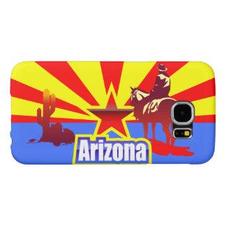 Arizona-Staats-Flaggen-Vintages Zeichnen