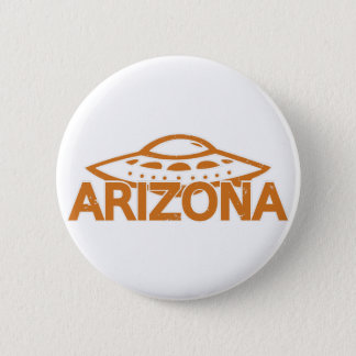 Arizona UFO Runder Button 5,7 Cm