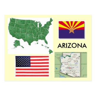 Arizona, USA Postkarte