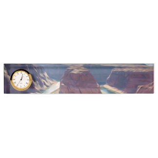 Arizonahufeisenbiegungswindung vom Colorado I Namensplakette