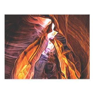 Arizonas herrlich und majestätisch - postkarte