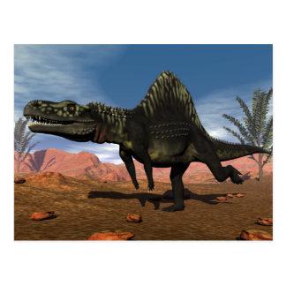Arizonasaurus Dinosaurier - 3D übertragen Postkarte