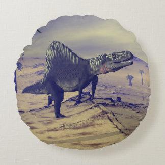Arizonasaurus Dinosaurier - 3D übertragen Rundes Kissen