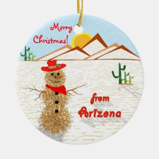 Arizonatumbleweed-Weihnachten Keramik Ornament