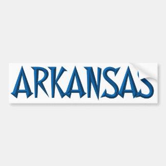 Arkansas Autoaufkleber