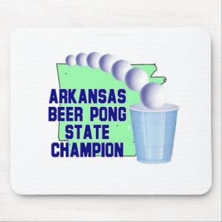 Arkansas-Bier Pon Meister Mousepad