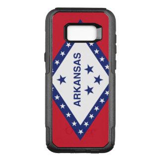 Arkansas-Flagge Otterbox Samsung Kasten Galaxie-S8 OtterBox Commuter Samsung Galaxy S8+ Hülle