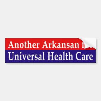 Arkansas für universelles Gesundheitswesen Autoaufkleber