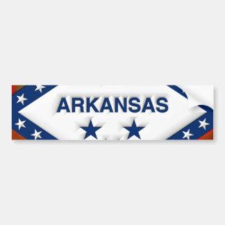 Arkansas-Kunst Autoaufkleber