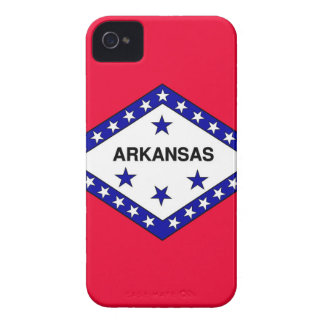 Arkansas-Staats-Flagge iPhone 4 Cover