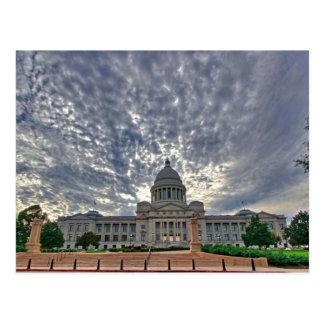 Arkansas-Staats-Hauptstadt Postkarte