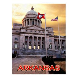 Arkansas-Staats-Hauptstadts-Gebäude, Little Rock, Postkarte