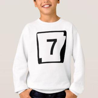 Arkansas-Staats-Weg 7 Sweatshirt