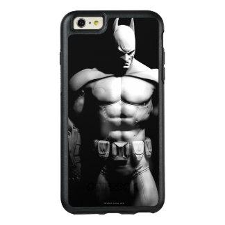 Arkham Stadt| Batman-breite Schwarzweiss-Pose OtterBox iPhone 6/6s Plus Hülle