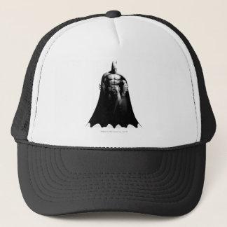 Arkham Stadt| Batman-breite Schwarzweiss-Pose Truckerkappe