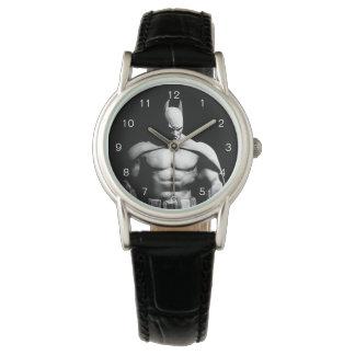 Arkham Stadt| Batman-breite Schwarzweiss-Pose Uhr