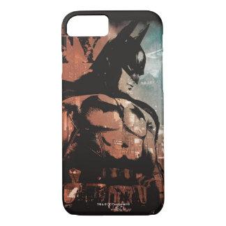 Arkham Stadt-Batman-gemischte Medien iPhone 8/7 Hülle