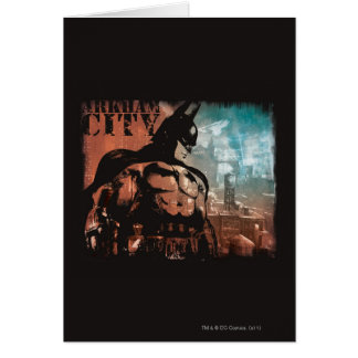 Arkham Stadt-Batman-gemischte Medien Karte