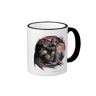 Arkham Stadt-Batman-Mond Kaffeetassen