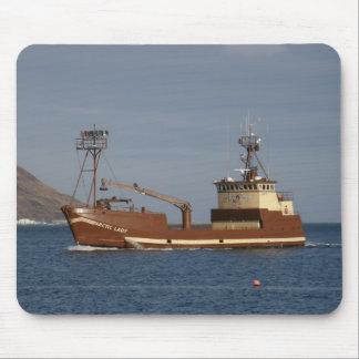 Arktische Dame, Krabben-Boot im niederländischen Mousepad