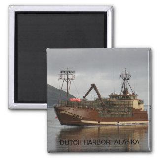 Arktische Dame, Krabben-Boot im niederländischen Quadratischer Magnet