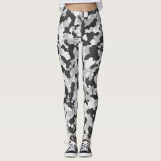Arktische Tarnungs-voller Druck Leggings