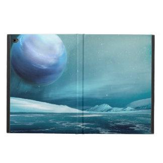 Arktischer Fall Winter-NachtiPad Airs 2, kein