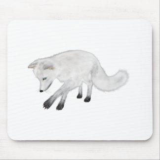 Arktischer Fox-Jagd Mousepad