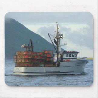 Arktischer Fox, Krabben-Boot im niederländischen Mousepad