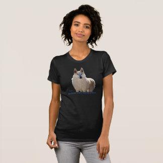 Arktischer Schnee-Wolf T-Shirt