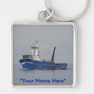 Arktischer Seemann, Krabben-Boot im Schlüsselanhänger