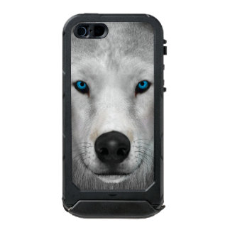 Arktischer Wolf Incipio ATLAS ID™ iPhone 5 Hülle