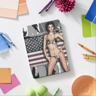 Arktisches Camouflage-Bikini-Baby iPad Air Hülle