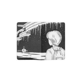 Arktisches Kartentor Moleskine Taschennotizbuch