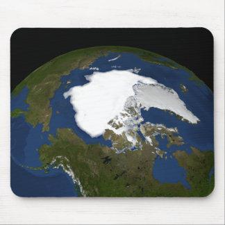 Arktisches Treibeis im Jahre 2005 Mousepad