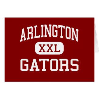 Arlington - Alligatoren - Mitte - Poughkeepsie Karte