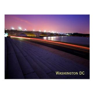 Arlington-Denkmal-Brücke Postkarte