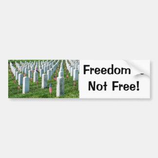 Arlington-Friedhof Autoaufkleber