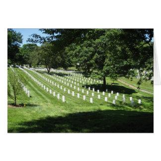 Arlington-Friedhof Karte