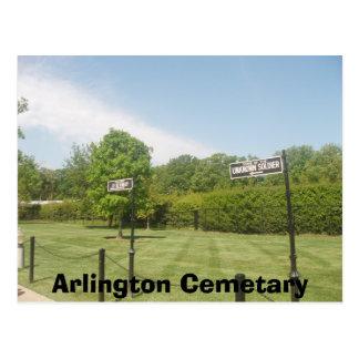 Arlington-Friedhof Postkarte