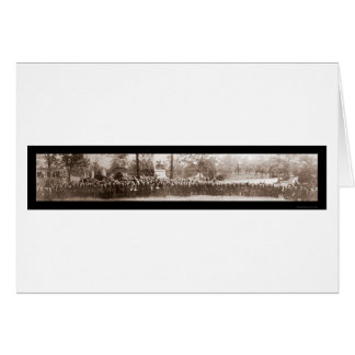 Arlington-Friedhofs-Foto 1914 Karte