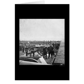 Arlington-Gewehr-Crew, die 1863 bohrt Karte