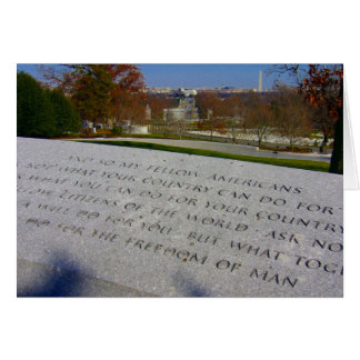 Arlington jfk Denkmal Karte
