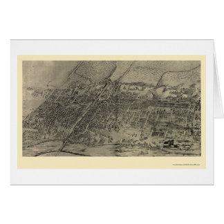 Arlington, NJ panoramische Karte - 1907